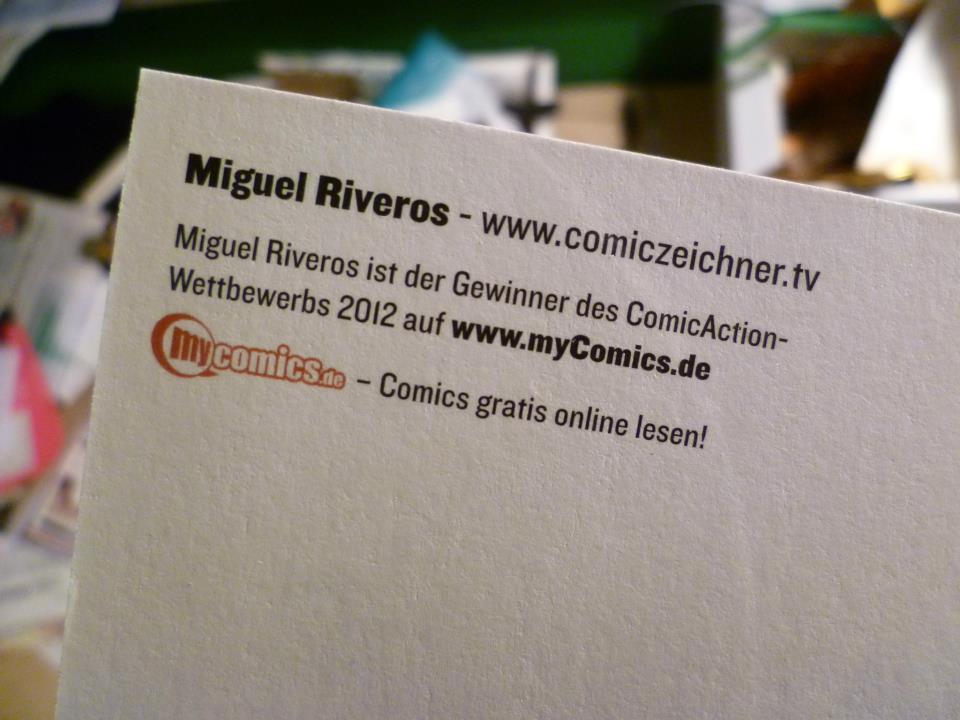 Comiczeichner Millus